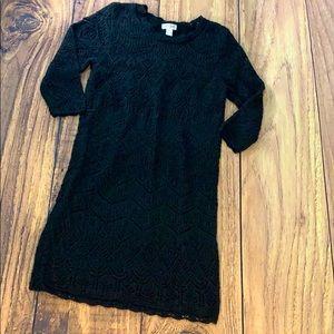 Cat&Jack sweater knit dress L 10/12 formal cute lg